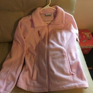 Columbia breast cancer fleece